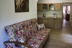 Apartmán 1 - kuchyně s jídelnou